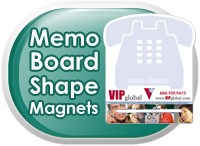 Memo Board Shape Magnets