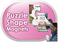 Puzzle Shape Magnets