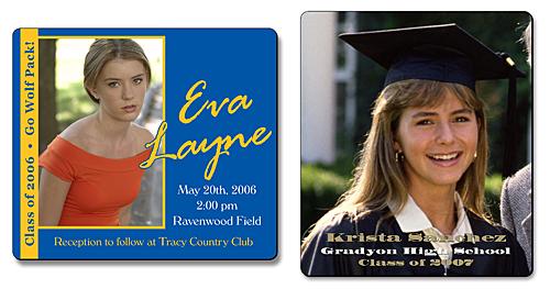 graduation magnets custom college graduation announcement magnet