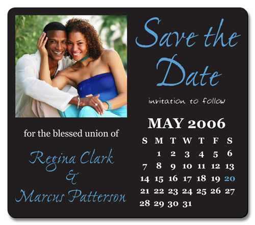 Custom Save The Date Magnets, Wedding Save The Date Photo Magnet ...